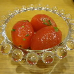 フルーツトマトのオレガノマリネレシピ
